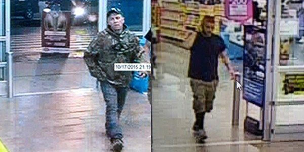 Deputies looking for thieves who attempted to steal pickup trucks