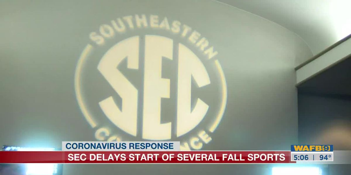 SEC delays the start of several fall sports