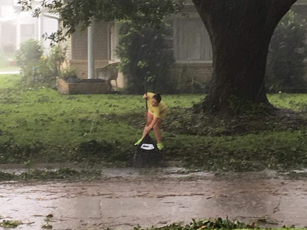 9-year-old creates social media challenge to clean up hometown streets after Barry