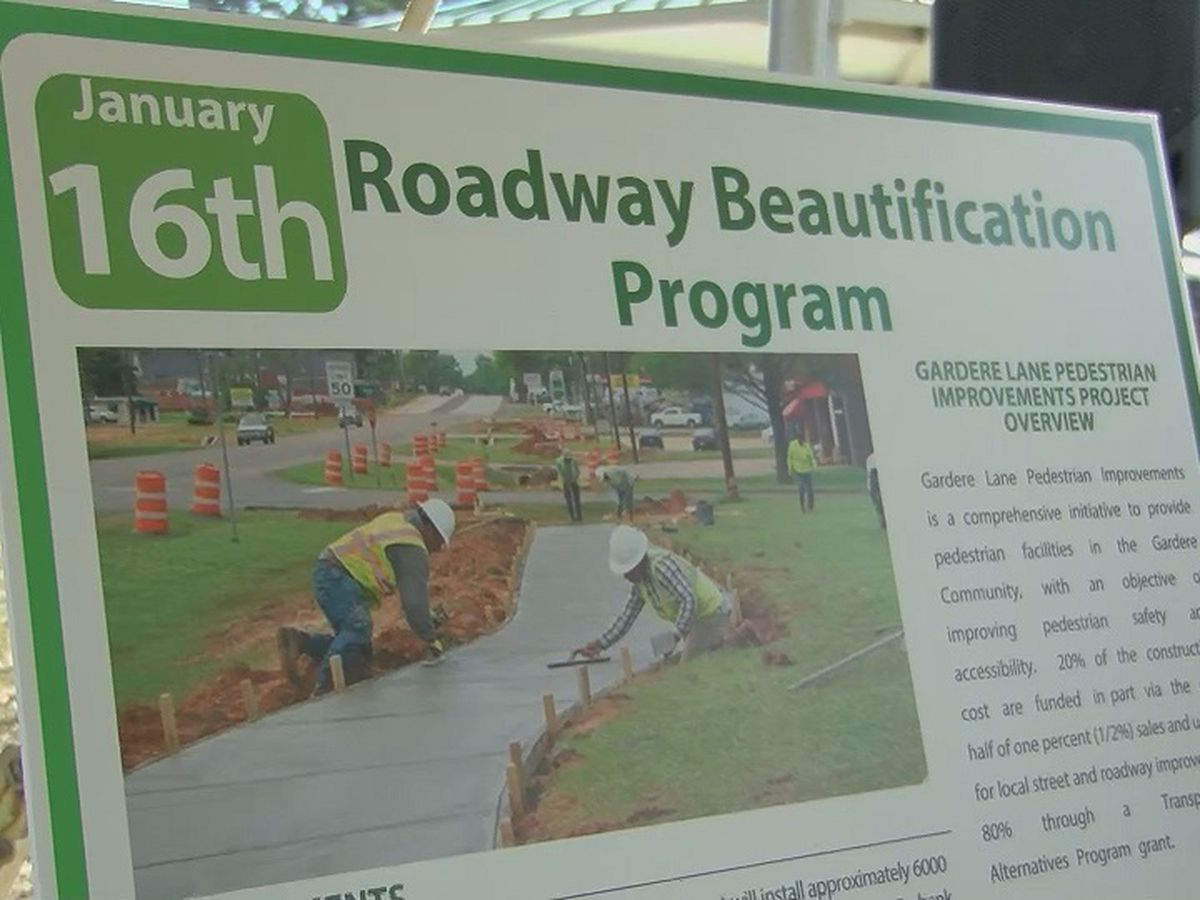 New project will bring sidewalks to Gardere area