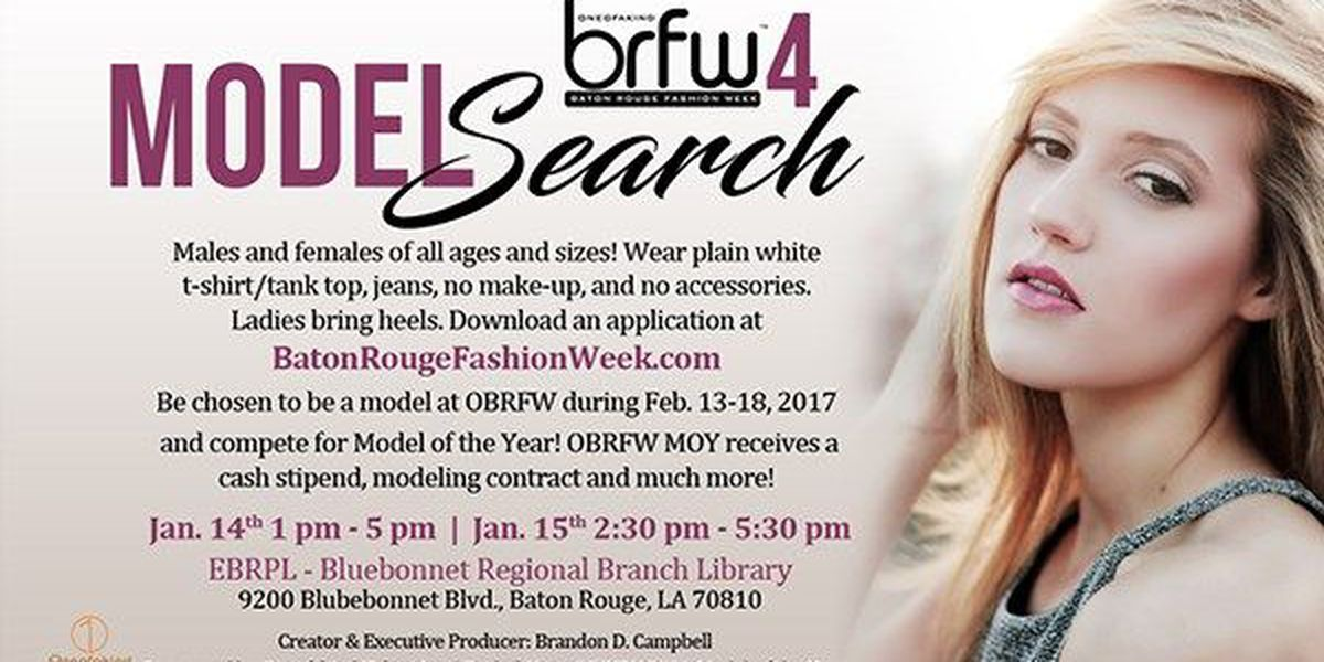 Baton Rouge Fashion Week announces model casting call