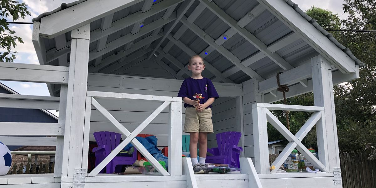Zachary boy undergoing cancer treatment gets surprise from Dreams Come True of Louisiana