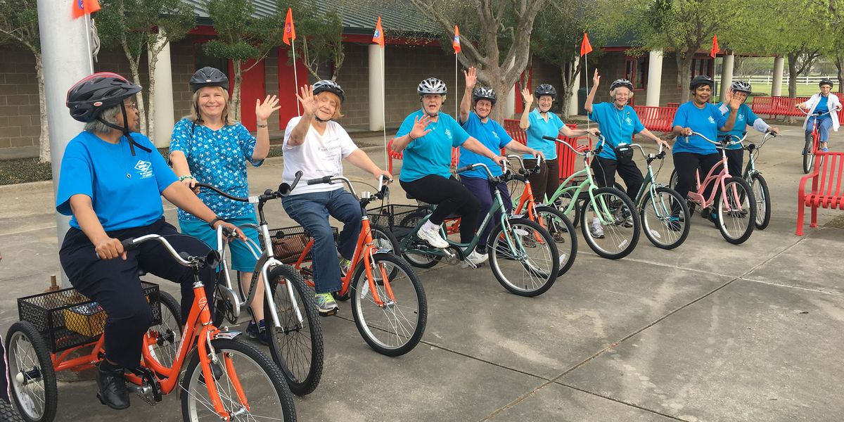 BREC encourages seniors to join biking program, 'Silver Spokes'