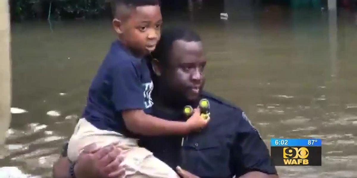 Walker residents rescued from flash flood waters