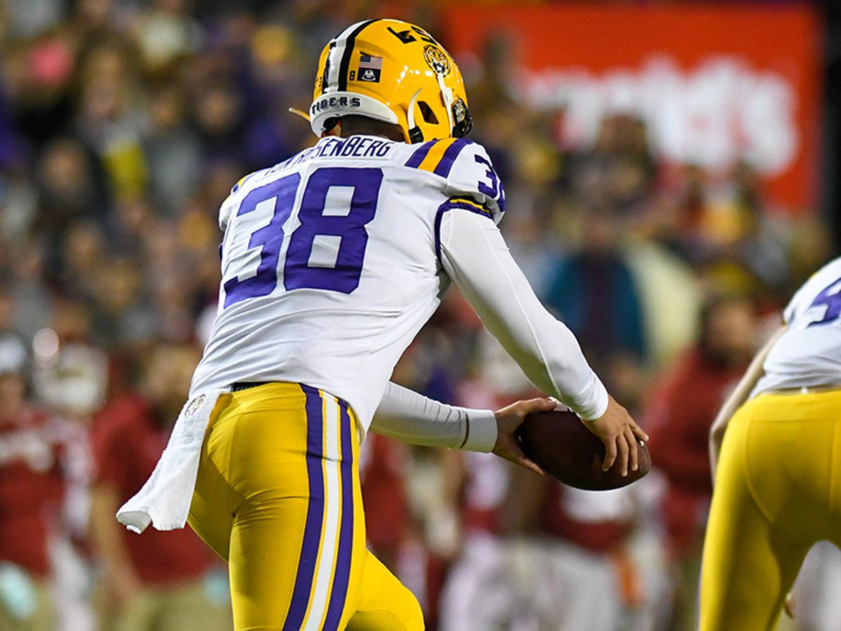 2021 NFL Draft: LSU Punter Zach Von Rosenberg signs with Minnesota Vikings as UDFA