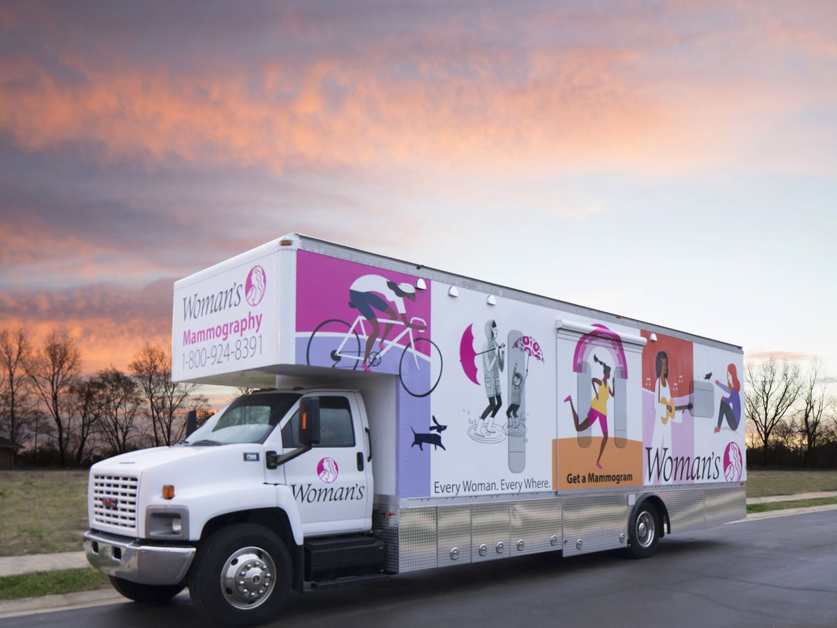 Woman's Hospital offers mobile mammograms