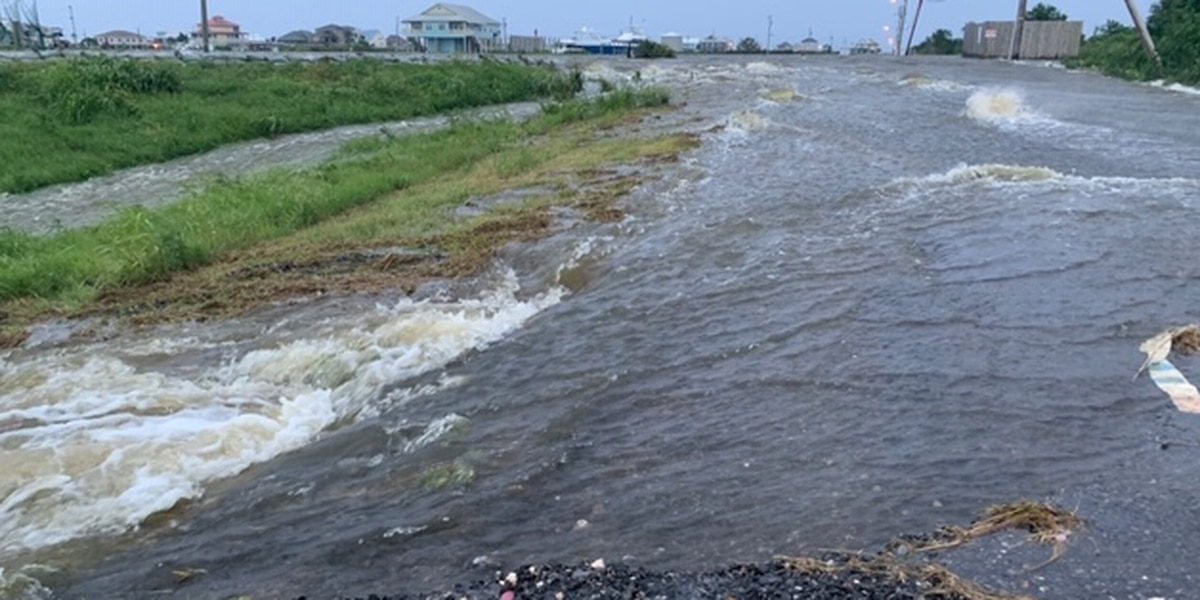 Plaquemines Parish lifts evacuation order for the Westbank