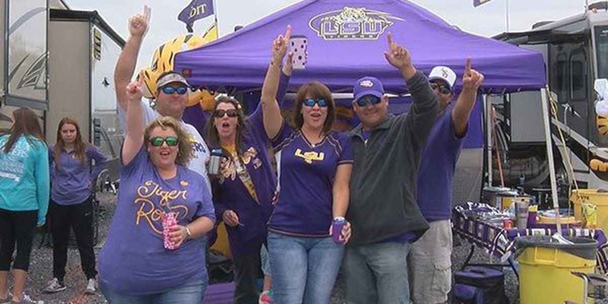 LSU has the best tailgating in all of college football, Sports Illustrated declares
