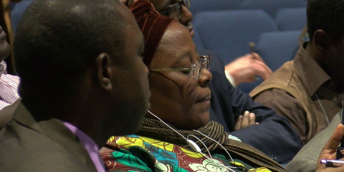 TRUCE members meet with African delegation to share ideas to reduce violence