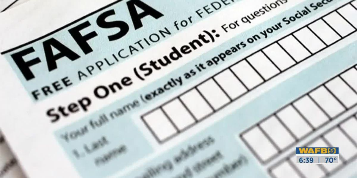 High school seniors should complete FAFSA by Feb. 1st-6:30am