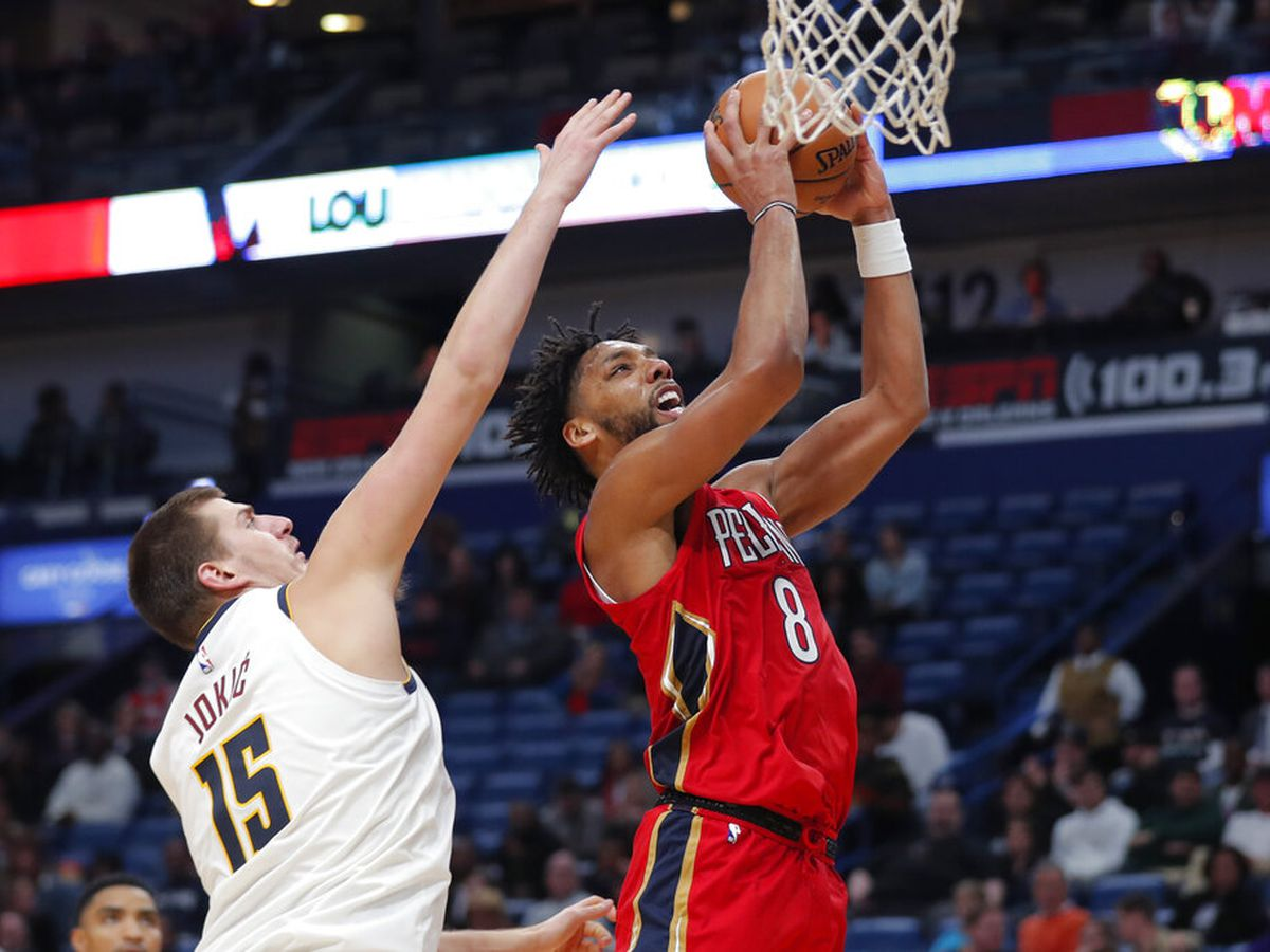 Pelicans beat Nuggets for first victory of season