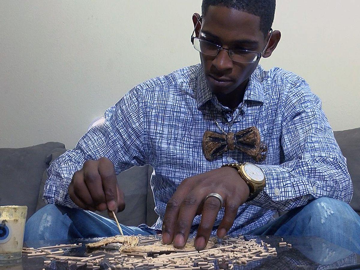 SHOWCASING LOUISIANA: Man creates sculptures out of toothpicks