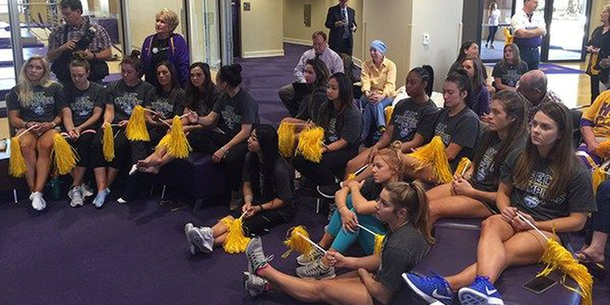 LSU gymnastics learns destination for NCAA Regional