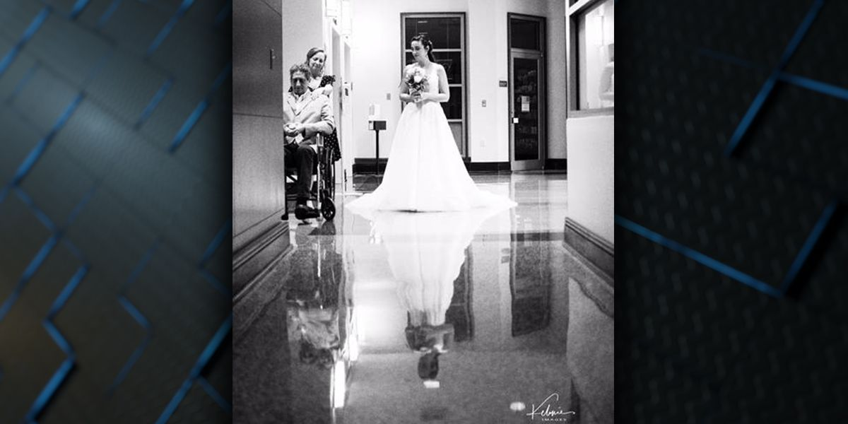 Couple weds early in Baton Rouge hospital after bride's father given just weeks to live