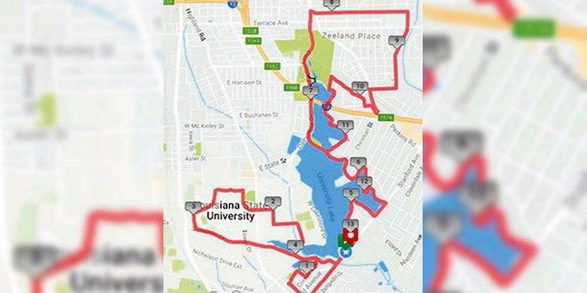 Roads on LSU campus to be closed this weekend due to two runs