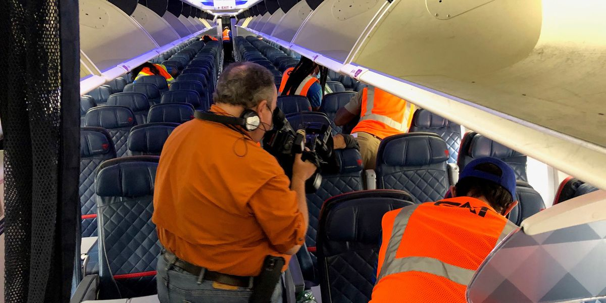 Air traffic uptick at Armstrong as airlines step up Covid-19 precautions
