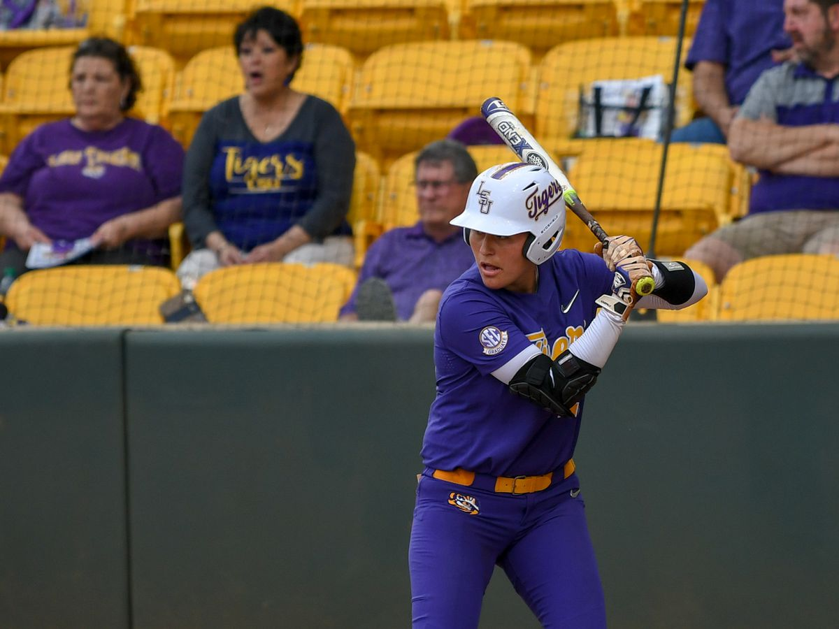 LSU softball senior earns LSWA Hitter of the Week honor