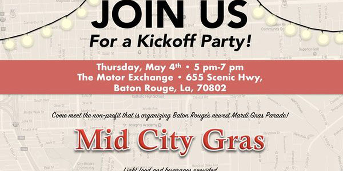 New Mid City Mardi Gras parade hosts kickoff event to reveal plans