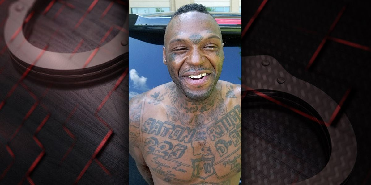 Man with 'Siegien Lane Dope Zone' tattooed on chest arrested for alleged armed robbery on Siegen
