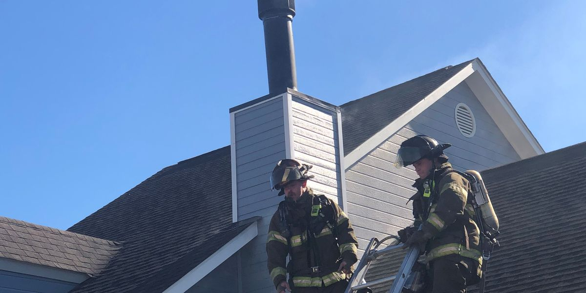 Firefighters urge residents to have chimneys cleaned following chimney fire Tuesday