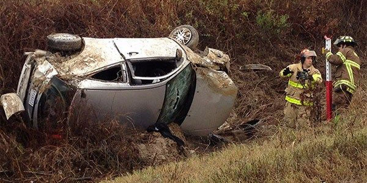 Driver cited for single-car crash on Scenic Hwy