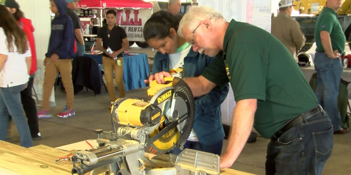 Teens participate in Build Your Future Day to get a look at construction jobs