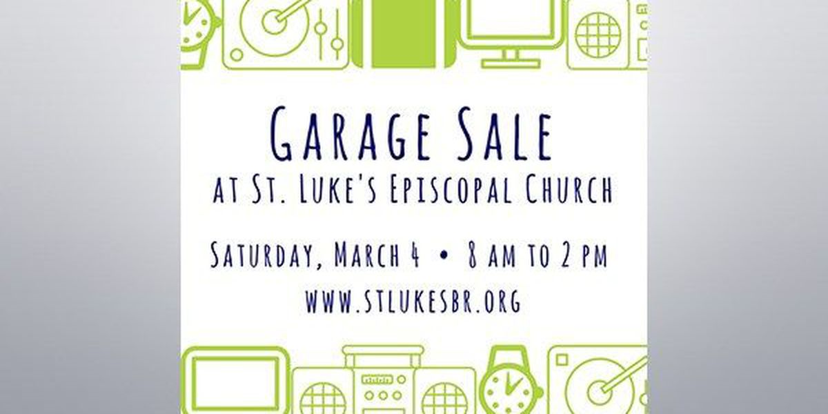Residents invited to 40th annual garage sale held by St. Luke's Episcopal Church Women ministry