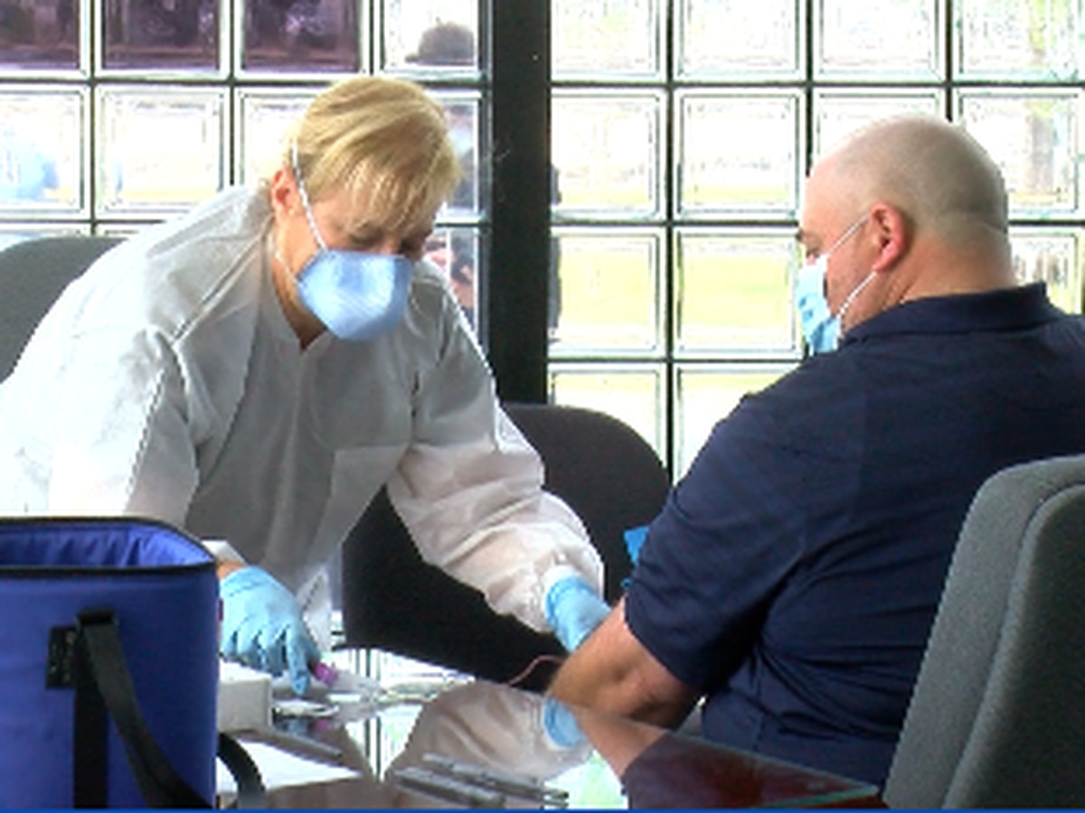 JPSO deputies recovered from COVID-19 coronavirus donate blood for research