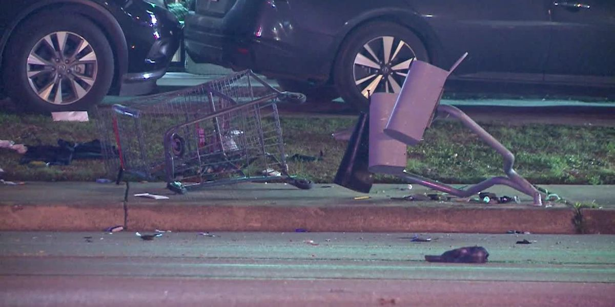 Driver struck pedestrian and went to a bar with a body in his car, police said