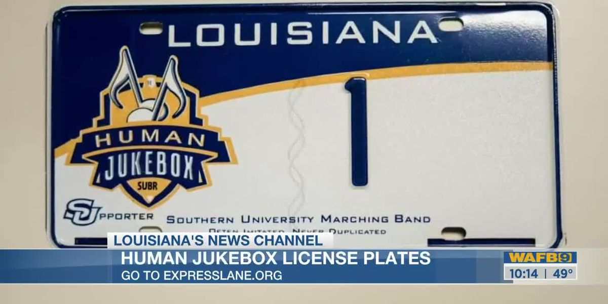 SU fans can now get Human Jukebox license plates