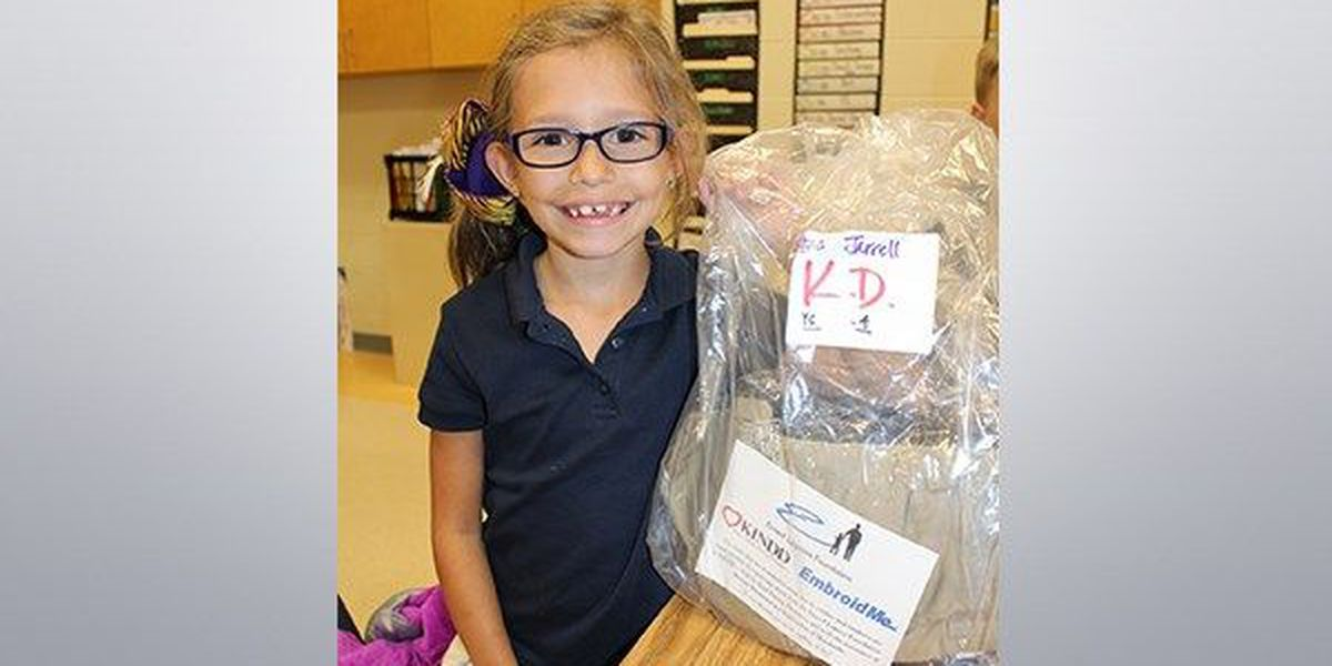 Emeril Foundation donates uniforms to Livingston Parish kids affected by flooding