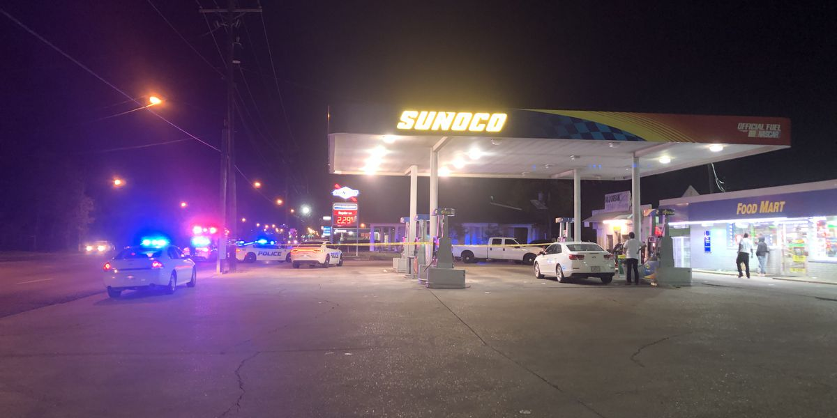 Police investigating after man killed in shooting at gas station on Scenic Highway