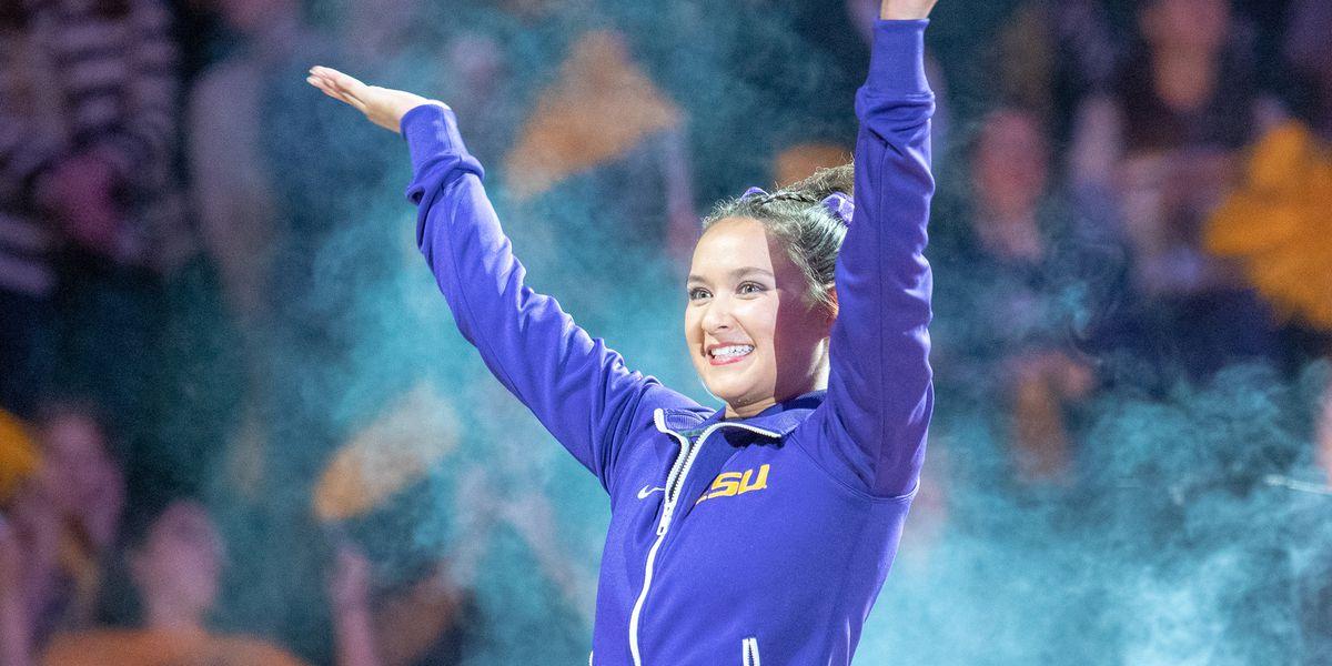 Finnegan named SEC Gymnast of the Week once again