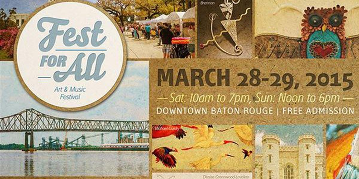 Fest for All to bring music, art to Baton Rouge this weekend