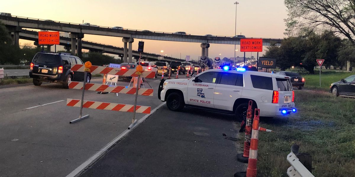 DOTD says repairs to Intracoastal Bridge could last a month after dump truck collision
