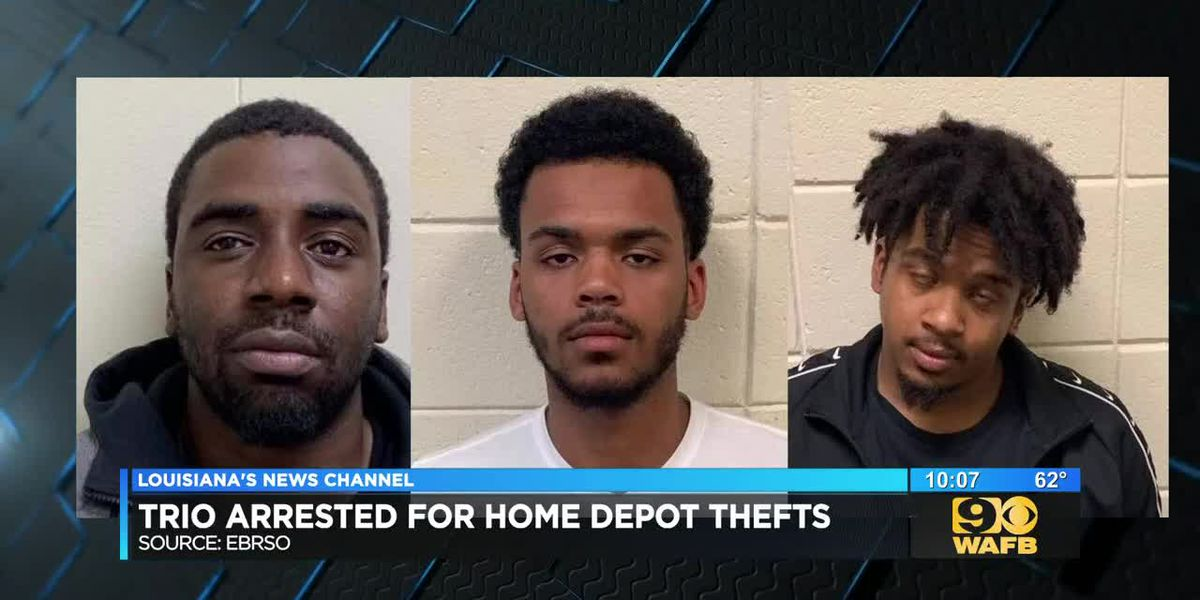 3 men accused in multi-state Home Depot theft ring