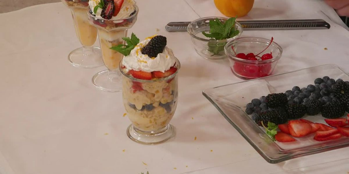 Stirrin' It Up: Angel Food Cake, Summer Fruit, and Yogurt Parfait (Aug. 1, 2019)