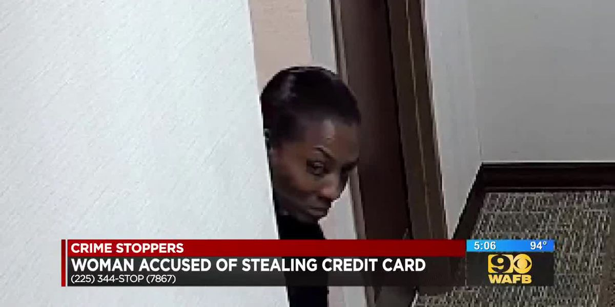 Woman accused of stealing credit card from doctor's office