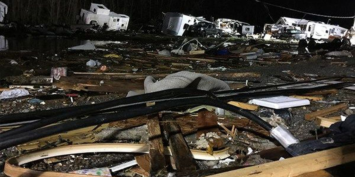 Coroner identifies second man killed in Tuesday's deadly tornado in Convent, La.