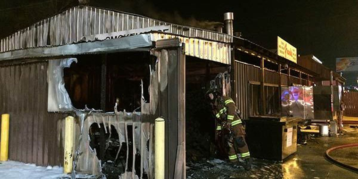 Fire damages Frank's Smokehouse