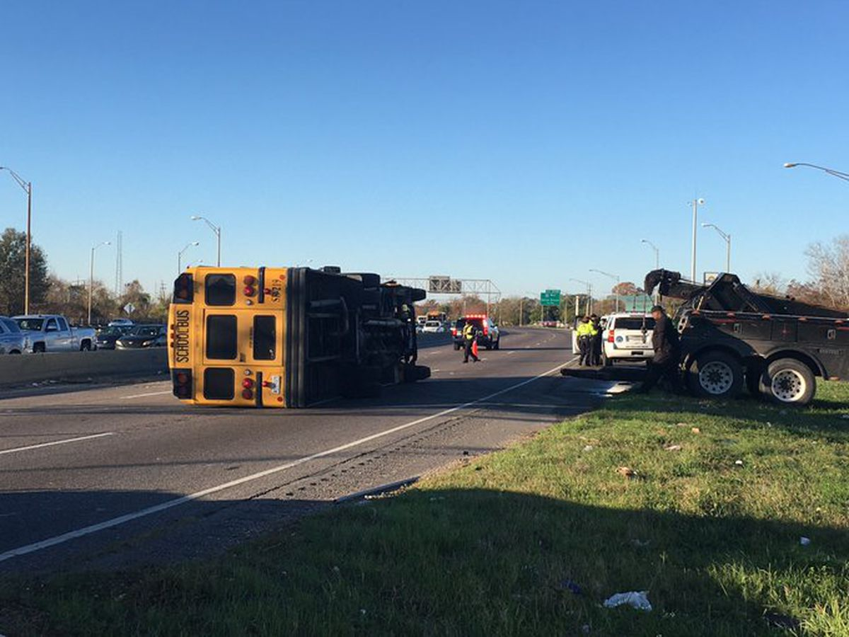 Nine Students Injured In New Orleans School Bus Crash Driver Did Not Have Permit