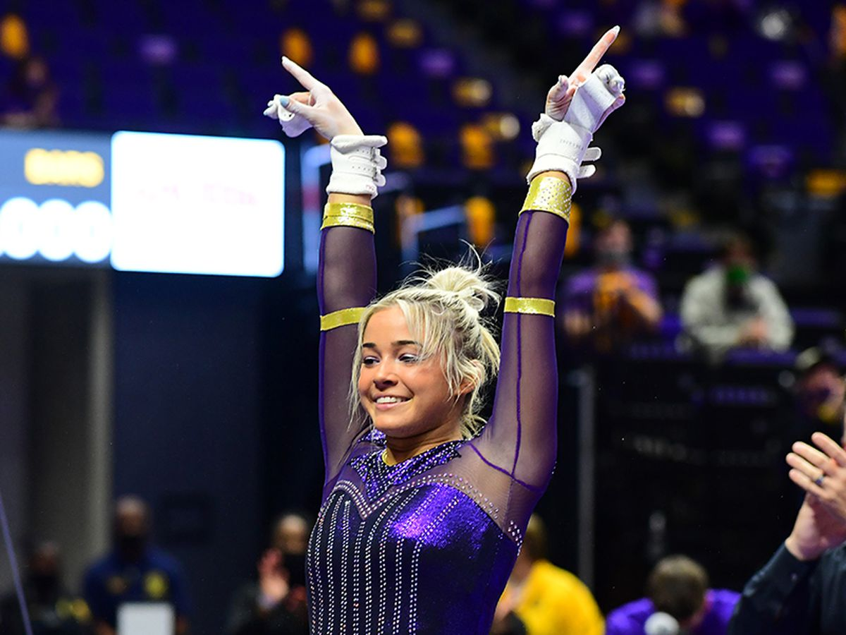 LSU jumps to No. 2 in national rankings
