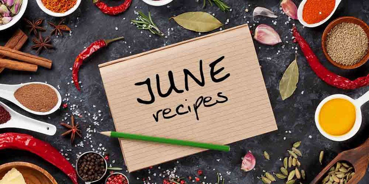 June 2017 Recipes
