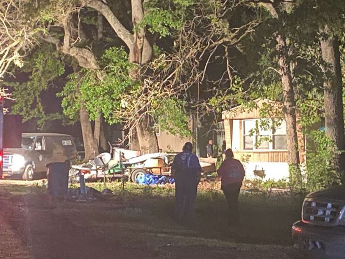 Louisiana man dies when tree falls on his mobile home