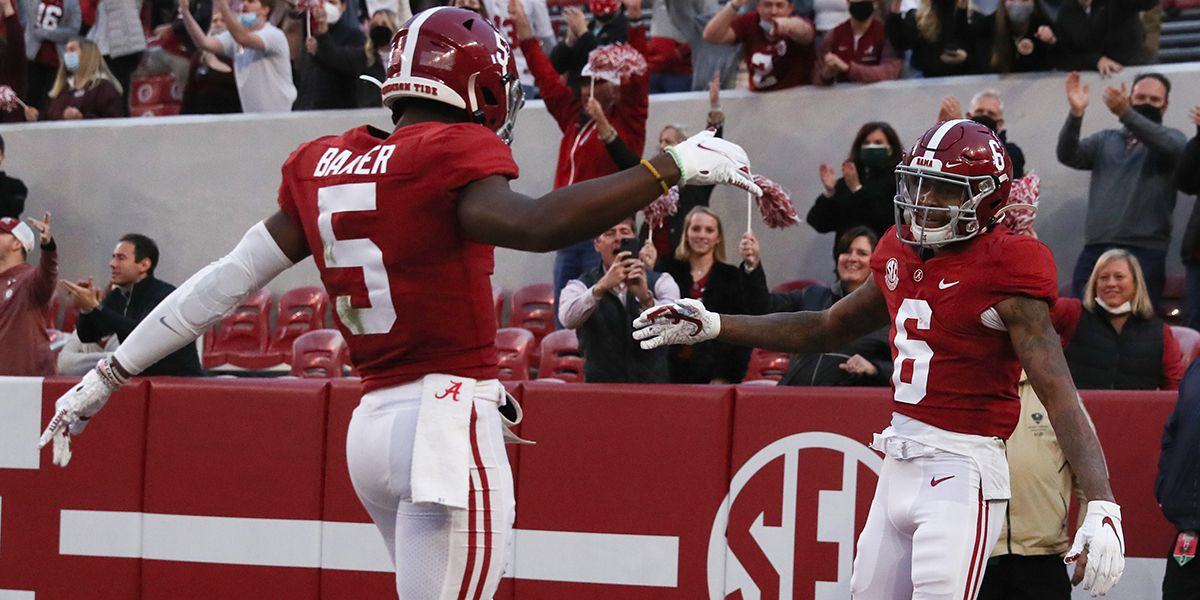 Alabama remains No. 1 in CFP rankings; Louisiana-Lafayette cracks list for first time