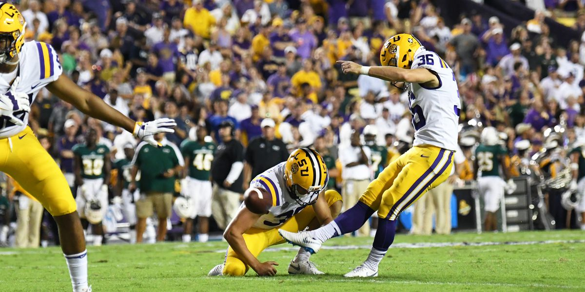 LSU sees improved special teams play over last season