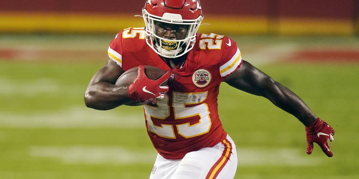 Edwards-Helaire looks to build on Week 1 success when Chiefs take on Chargers on WAFB-TV