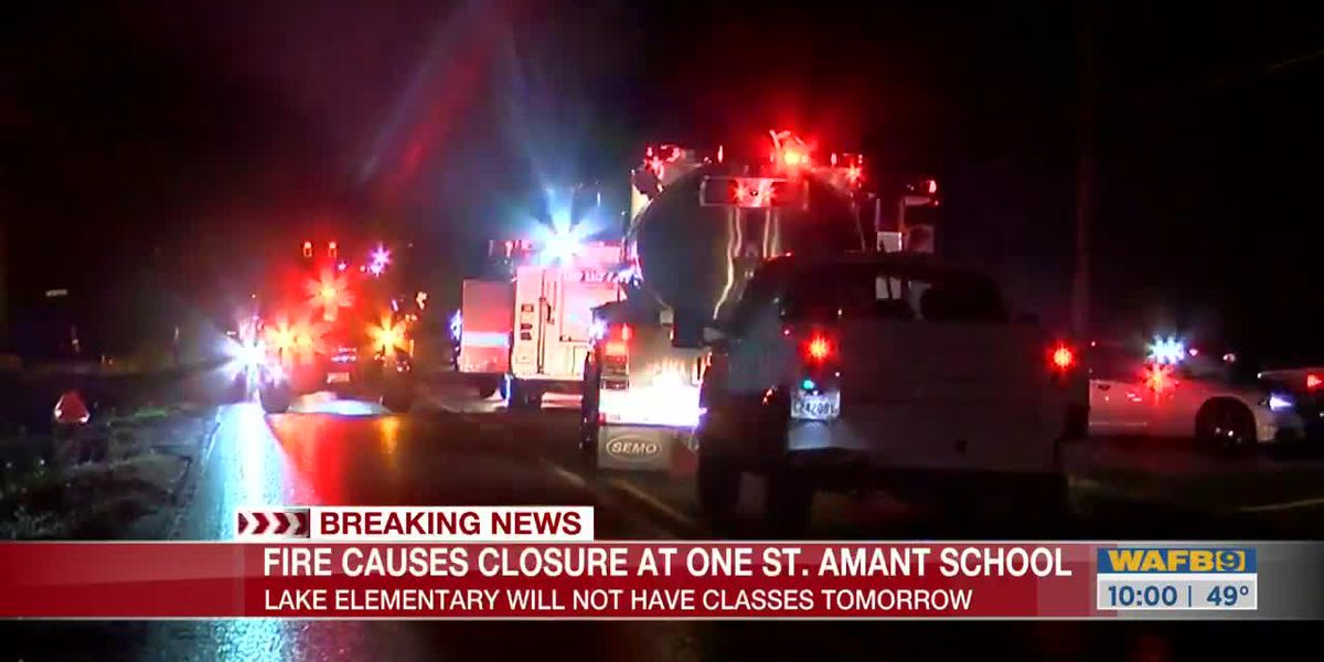 Classroom badly damaged in fire at Lake Elementary in St. Amant