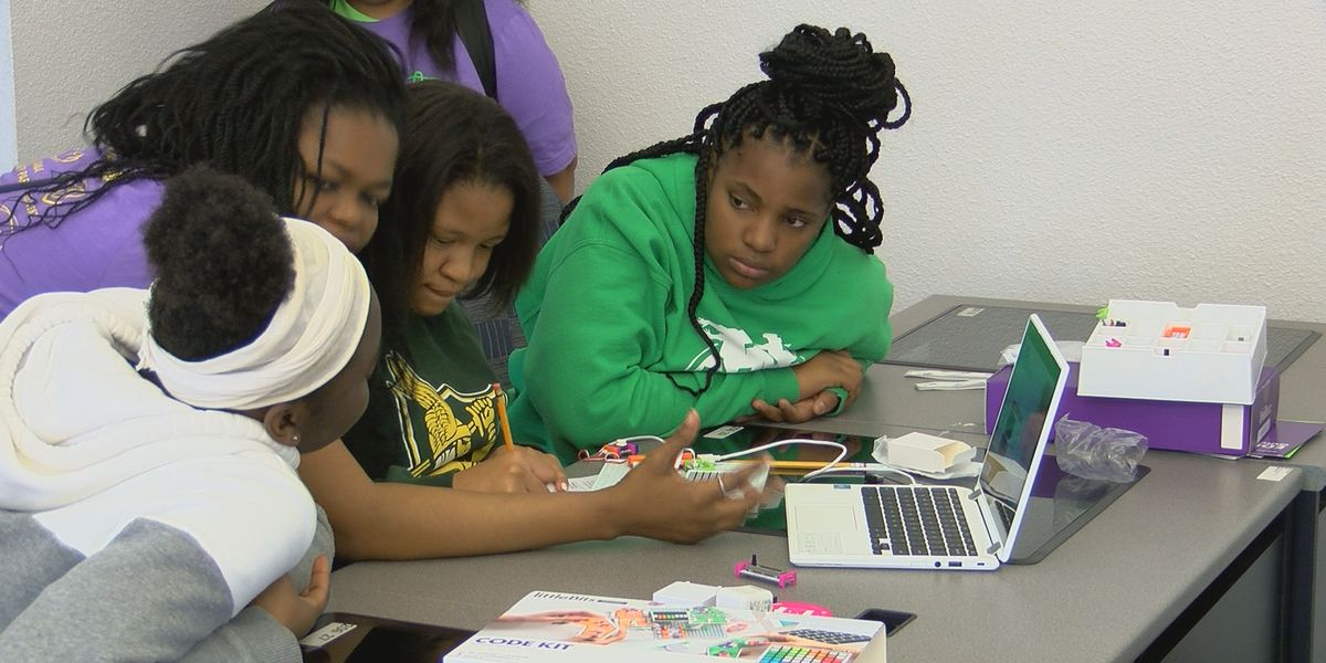 Middle school girls get special look at careers in technology fields