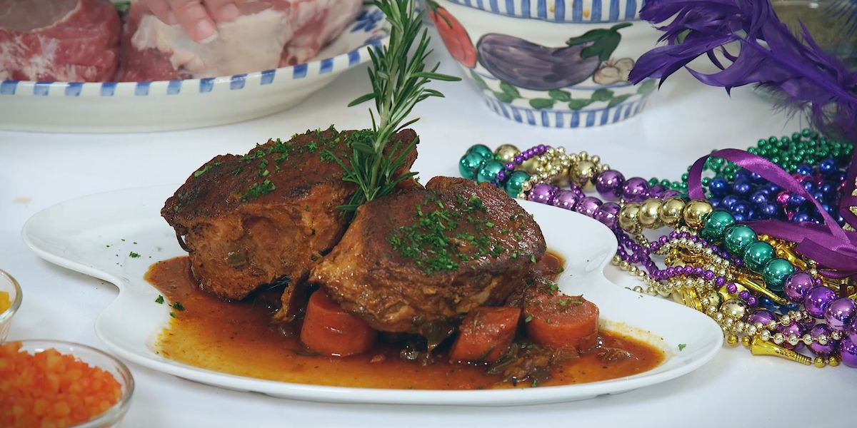 Boucherie-Day Braised Pork Chops